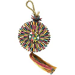 Rosewood Pet 22304 Woven Wonders Tire Shredder Small/Medium Bird Toy