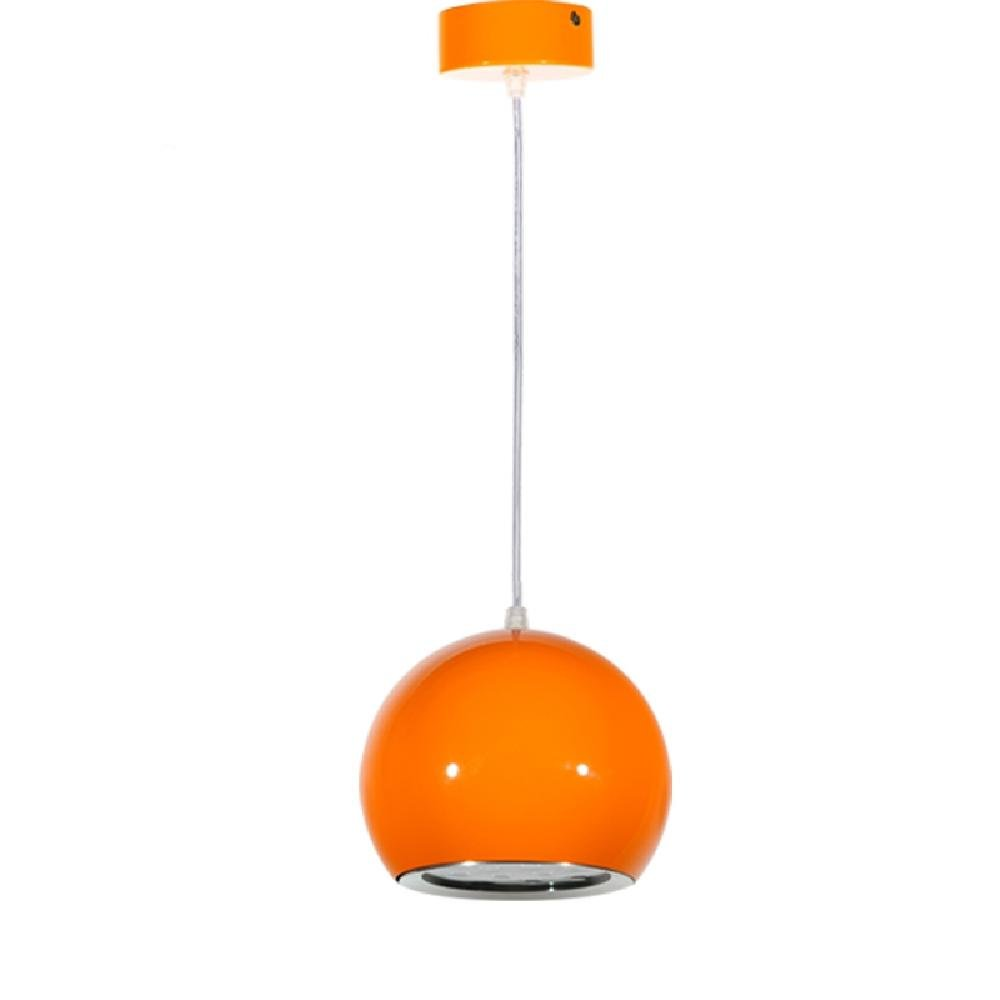 MEIREN Pendant Lights LED Modern/Contemporary/Globe Dining Room/Kitchen/Study Room/Office/Kids Room/Game Room/Hallway Metal , Orange