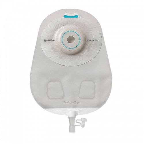 Coloplast Urostomy Pouch Convex Light, Trim to Fit, Transparent