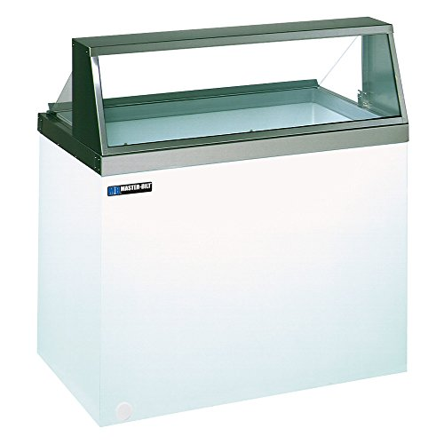 Master-Bilt DD-46 Ice Cream Dipping/Display Cabinet with (8) Three Gallon Tub Display & (4) Three Gallon Storage Capacity