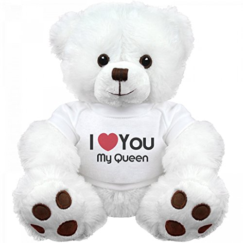 I Heart You My Queen Love: Medium Teddy Bear Stuffed Animal