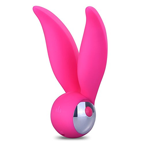 Utimi USB Charging Silicone Rabbit Vibrator for G-spot Clitoris Stimulation