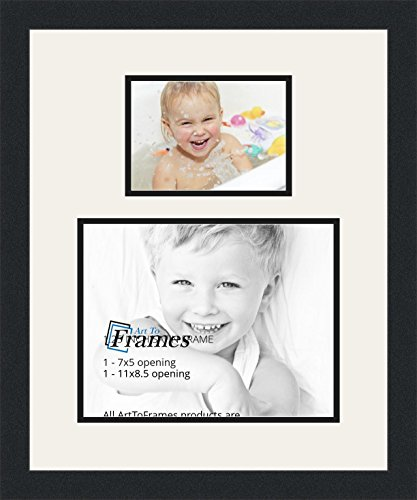 ArtToFrames Double-Multimat-1343-61/89-FRBW26079 Collage ...