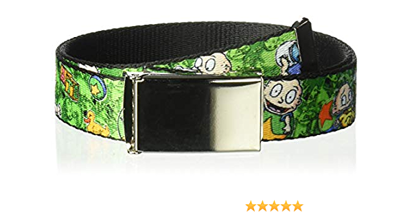 Buckle-Down Seatbelt Belt Rugrats Beach Play Scene 20-36 Inches in Length 1.0 Wide