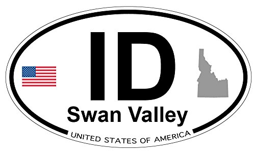 - Swan Valley, Idaho Oval Sticker