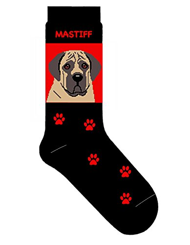 Mastiff Crew Socks Unisex Egyptian Red