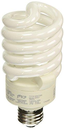 - TCP 4892730k CFL Pro A - Lamp - 100 Watt Equivalent (27W) Warm White (3000K) Full Spring Lamp Light Bulb