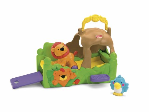 Fisher-Price Amazing Animals Roll and Go Habi-Tote Lions' Den