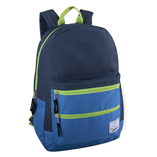 Multi-Color Back Pack with Adjustable Padded Shoulder ()