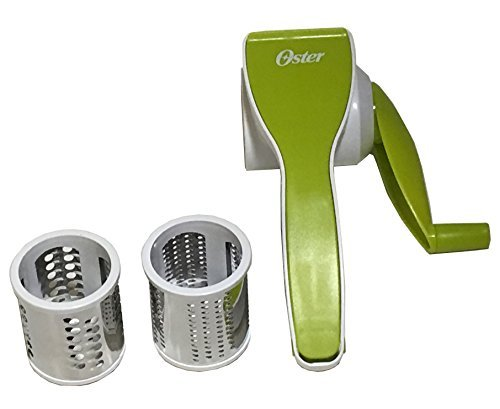 Oster Gadgets 92108.02 Kitchen Artistry Rotary Cheese Grater, Lime Green by Oster