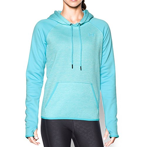 Under Armour Women's Storm Armour Fleece Icon Twist Hoodie, Venetian Blue (448), Large