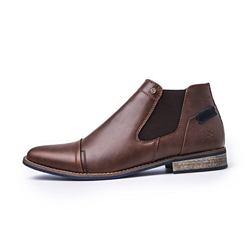 Stivali Da Chelsea Global Win Mondwin Mens 1638 Marrone