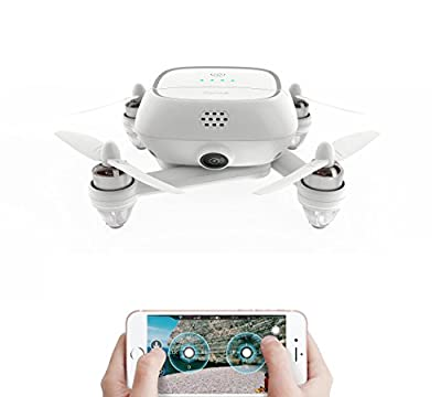 Drone , Drone with Camera , Mini Drone ,Drone Master , Kimon , 4K HD CAMERA , GPS ,16 MP HD 4K CAMERA with 16 GB Micro SD Card , Selfie Drone WHITE from Drone Master