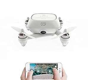 Drone , Drone with Camera , Mini Drone ,Drone Master , Kimon , 4K HD CAMERA , GPS ,16 MP HD 4K CAMERA with 16 GB Micro SD Card , Selfie Drone WHITE