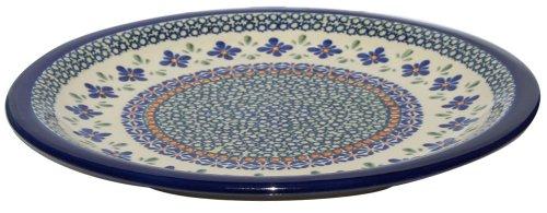 Polish Pottery Dinner Plate 10.75 Inch From Zaklady Ceramiczne Boleslawiec 1014-du60 Unikat Pattern, Diameter 10.75