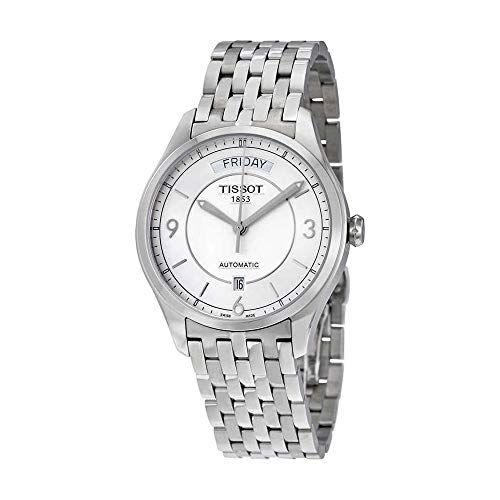 - Tissot Men's T0384301103700 T-one Analog Display Swiss Automatic Silver Watch