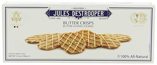 Jules Destrooper Cookie Butter Crisps 3.5 oz (Pack of 4)