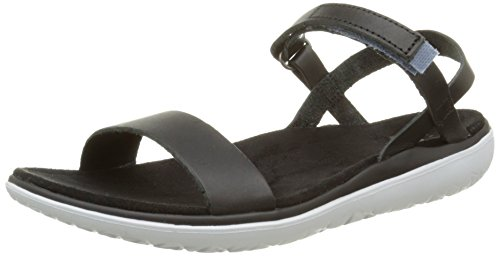 Teva Women's Terra-Float Nova Lux Sandal, Black, 10 M US by Teva