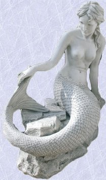 Muriel the enchanting mermaid statue home sculpture New
