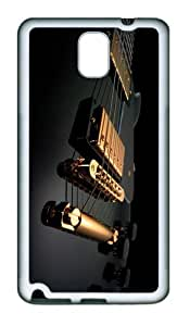 cool case Electric Guitar TPU White case/cover for samsung galaxy note 3 N9000