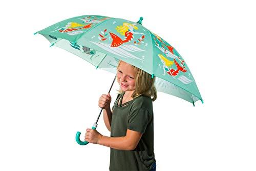 Mermaid Color Change Umbrella Mint Green -