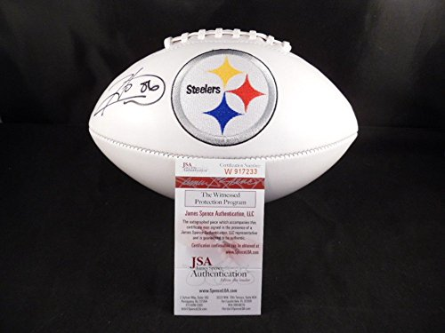 Hines Ward Signed Football Pittsburgh Steelers - JSA Certified Certified