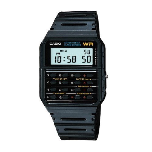 Casio Watch Calculator Vintage Retro 80's Ca-53w-1z Ca53 Ca-53