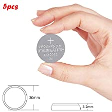 Finedayqi  CR2032 CR 2032 3V Button Coin Cell Battery x 5pcs Made in China