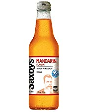 Saxby's No Sugar Mandarin, 15 x 330 ml, No Sugar Mandarin