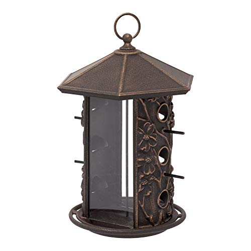 (Whitehall Products Dogwood Bird Feeder, Oil Rub Bronze)