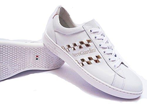 Donna Nero Giardini p717270d sneakers da in pelle col.num.