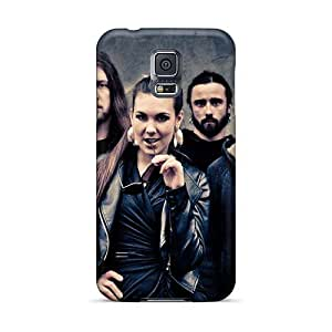Scratch Protection Hard Cell-phone Cases For Samsung Galaxy S5 With Custom High-definition Rise Against Skin MansourMurray