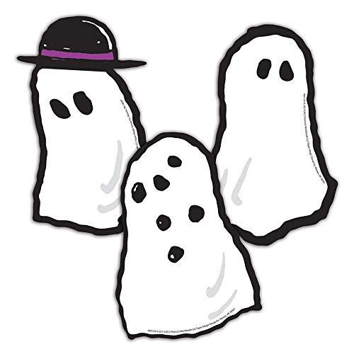 Eureka Peanuts Halloween Ghosts Paper 5