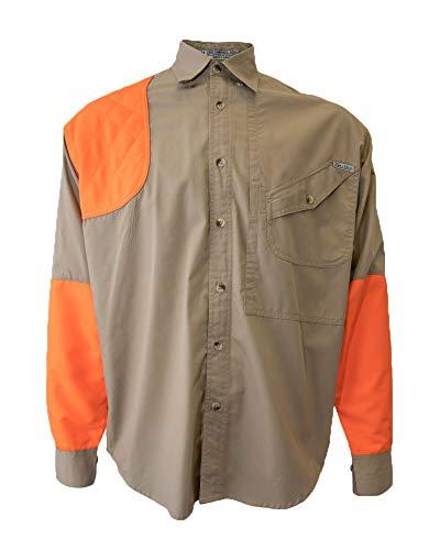 - Tiger Hill Men's Blaze Upland Tactical Hunting Shirt Long Sleeves (Large)