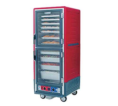 Metro Full C5 3 Heated Holding/Proofing Cabinet W/Red Armour - C539-CDC-4