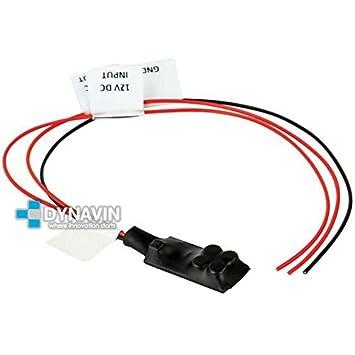 CT-RELE.100 - Estabilizador de tensión/relé para instalacion de cámaras de marcha atras y evitar ruidos y pantalla parpadeante: Amazon.es: Electrónica