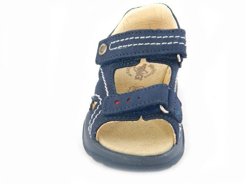 Primigi - Primigi Sandales Petit Garçon Velcro Cuir Bleu 49310 - Bleu, 31