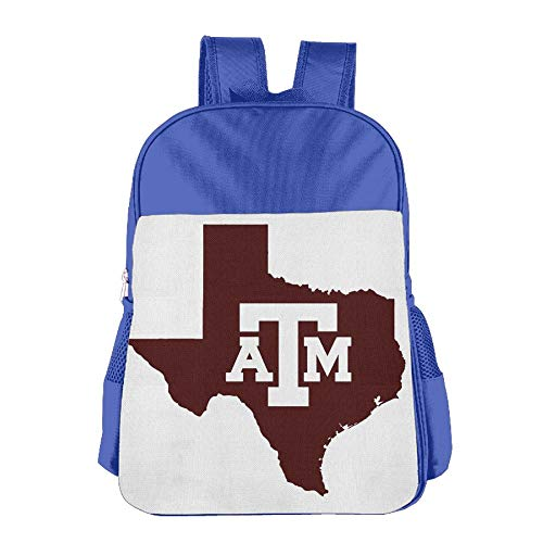 State Texas Map Children School Backpack Carry Bag For Teens Boys Girls by TPXYJOF