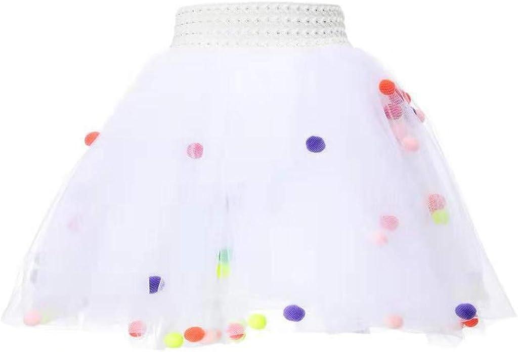 Toddler Girls Kids Baby Dance Mini Dress Party Tutu Ballet Skirt Pettiskirt,Fineser Little Girls 3 Layers Ballet Skirt