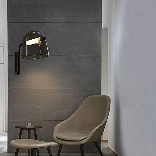 Yjdr Moderne Minimaliste Creative verre Applique Salon simple verre Appliques Chambre Lampe de chevet Aisle Couloir Applique étude Applique