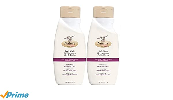 Amazon.com : Canus Original Formula Body Wash (Pack of 2) with Fresh Goats Milk, Peg-7 Glyceryl, Citronellol, Glycerin and Soybean Oil, 16.9 fl. oz.