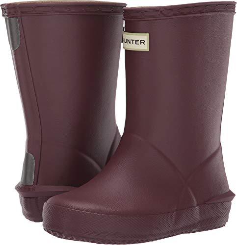 (Hunter Kids Unisex First Norris Boots (Toddler/Little Kid) Dulse 6 M US)