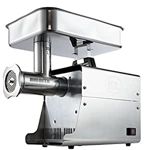 LEM Products W781A Stainless Steel Big Bite Electric #22-Meat Grinder (1-HP)