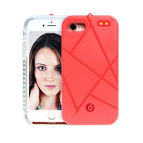 LED Case iPhone 7 Plus Light Up Selfie Power Bank Battery Charger Luminous Fashionable Illuminated Protective Cell Phone Back Cover...  v iphone 7 case | $5500 iPhone Case – Worlds Most Expensive 41VNsXYGmxL