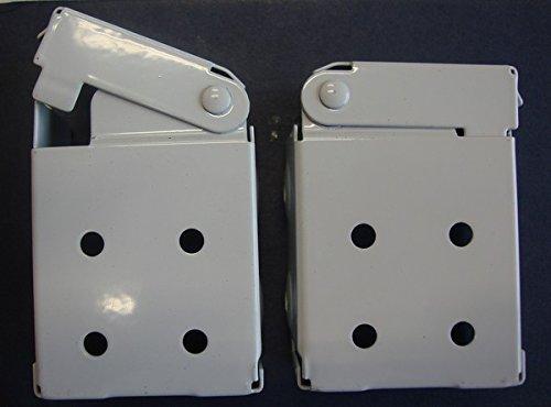 Blind Bracket - Amazing Drapery Hardware Low Profile Mounting Brackets for Faux & Wood Horizontal Blinds (1 Pair)