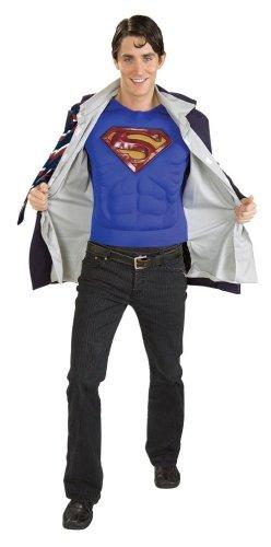 [DC Comics Clark Kent Superman Adult Costume] (Superman Clark Kent Halloween Costume)