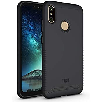 wholesale dealer e9129 1d856 BLU VIVO XI+ Case, TUDIA Slim-Fit Heavy Duty [Merge] Extreme  Protection/Rugged but Slim Dual Layer Case for BLU VIVO XI+ [NOT Compatible  with VIVO ...