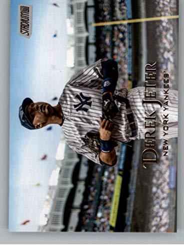 Baseball MLB 2019 Topps Stadium Club #141 Derek Jeter #141 NM Near Mint Yankees