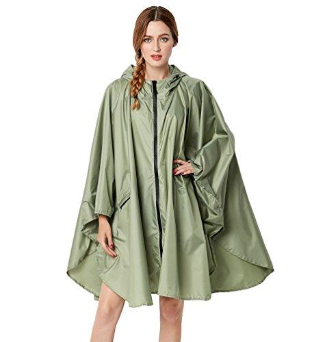 Pluie Cayuan Vestes Femmes Manteau Poids Capuche Coupe Lger Oversized Vestes Comme Impermable Image13 en Multicolore Air Pluie Plein Ponchos H6rHwq