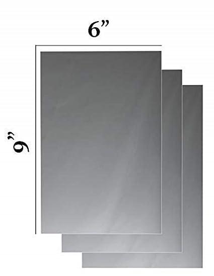 Amazoncom Q Bics Flexible Mirror Sheets 6 X 9 Soft Non Glass Cut